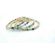Multi Zircon Color Bangle